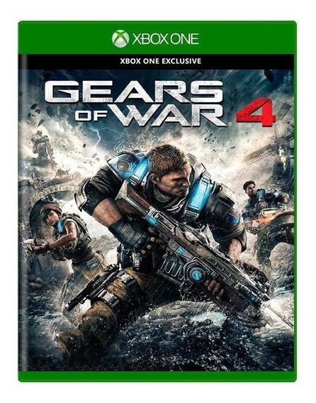Gears Of War 4 Xbox One Mídia Física Pronta Entrega