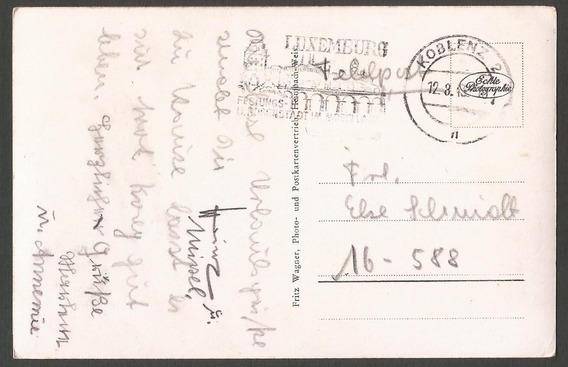 2° Guerra Alemania 1943 Foto Feldpostkarte Desde Koblenz - 581