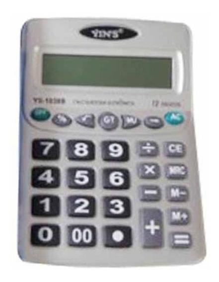 Calculadora Media 12 Digitos Ys1038b / Un / Yin