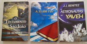 Lote. 3 Livros Do Autor J.j. Benítez. Editora Mercuryo