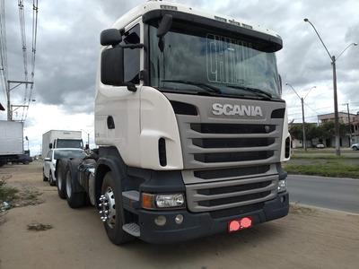 Scania G480 A 6x4 Ano 2012 Automática =volvo Fh 440 500 540