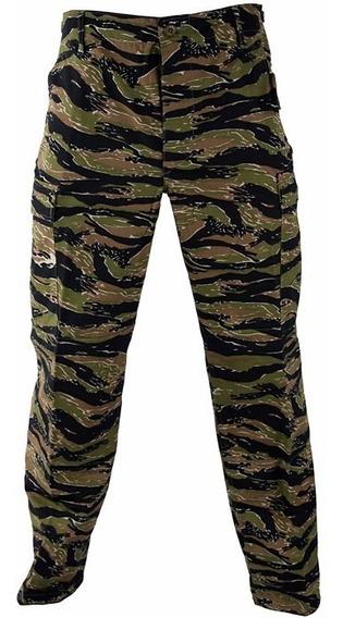 Pantalon Tactico Camuflado Tiger Strip Rip Stop Corte Bdu