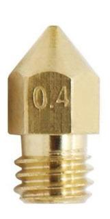 Nozzle Pico 0.4 Mm Bronce Hot End Mk8 Ender 3
