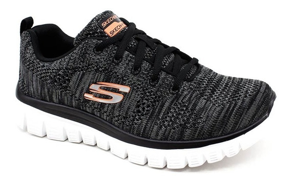 Tênis Skechers Graceful 2.0 Original Cinza