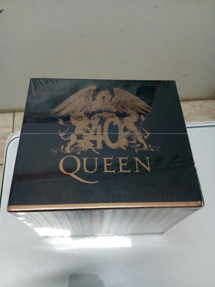 Cd Box Banda Queen Discografia 40 Anos 15 Cds + Brinde