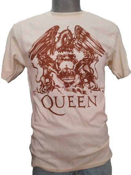 Playeras Queen Logo Grande