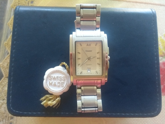 Relógio Quartz Swiss Made !!! Raridade!!! Lindo!!!
