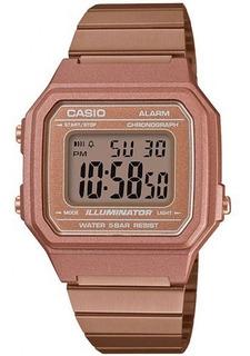 Reloj Mujer Casio B650wc Rose Gold Retro / Lhua Store