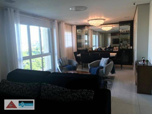 Imagem 1 de 30 de Apartamento Com 3 Dormitórios À Venda, 144 M² Por R$ 1.390.000,00 - Tatuapé - São Paulo/sp - Ap6342