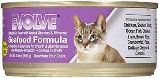 Evolucionar Mariscos Comida Para Gatos - 24x5.5oz
