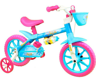 Bicicleta Infantil Aro 12 Nathor Acqua