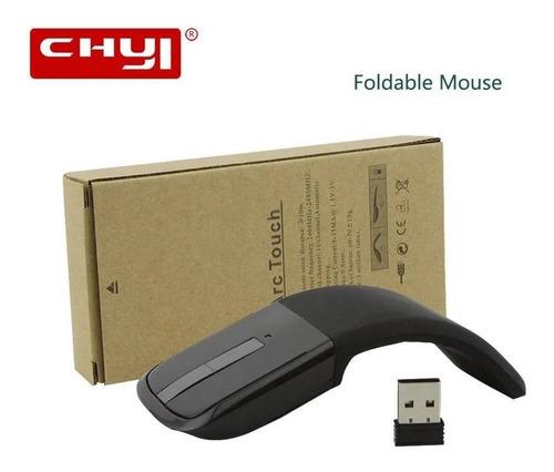 Mouse Sem Fio Arc Touch Slim Optical Dobrável Chyi Recp. Usb