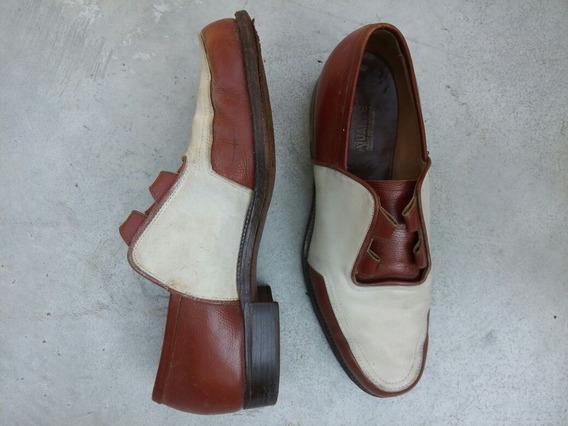 Zapatos Calzado Cuero Hombre Guante 42.5 Muy Buen Estado