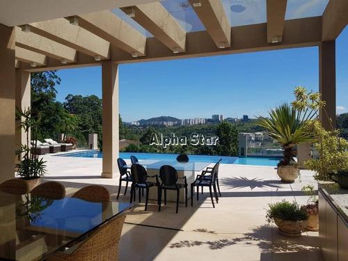 Imagem 1 de 19 de Casa Com 4 Dormitórios À Venda, 1350 M² Por R$ 8.000.000 - Tamboré 01 - Barueri/sp - Ca3509