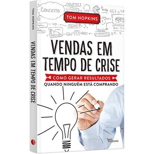 Livro Vendas Em Tempos De Crise - Tom Hopkins