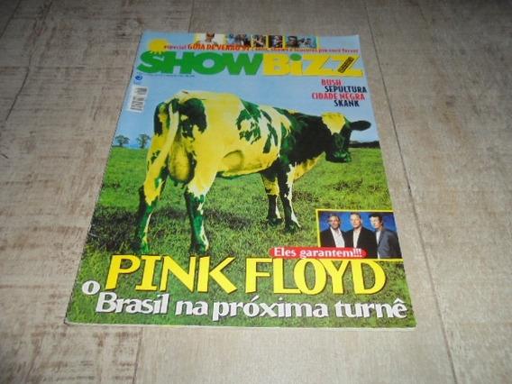 +m+ Showbizz 138 - Capa Pink Floyd Bush Sepultura Skank Etc