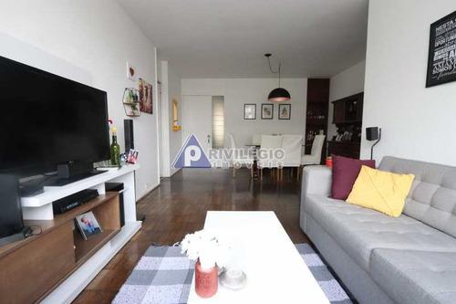 Apartamento À Venda, 3 Quartos, 1 Suíte, 1 Vaga, Laranjeiras - Rio De Janeiro/rj - 21200