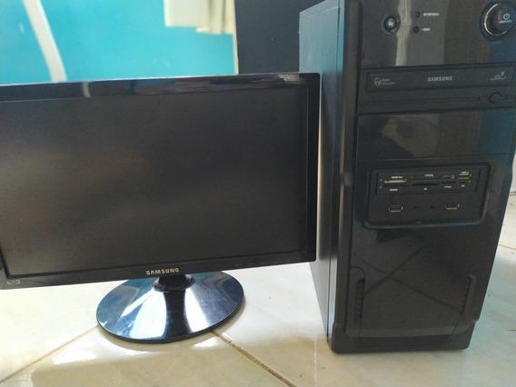 Computador Samsung Core I5 4gb De Ram - Cpu E Monitor