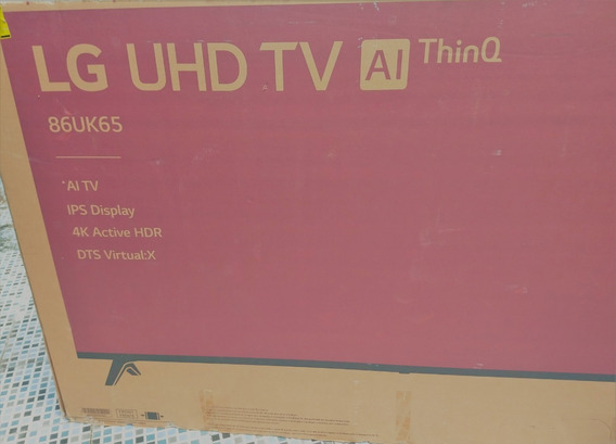 Smart - Tv - 4k Ultra Hd Lg-86uk6520psa