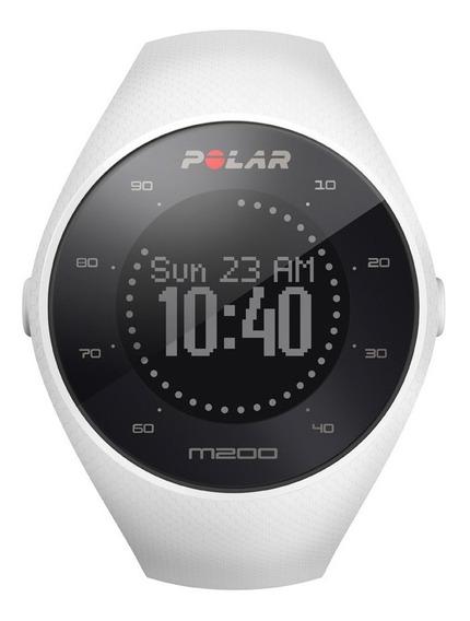 Reloj Deportivo Running M200 Blanco Polar