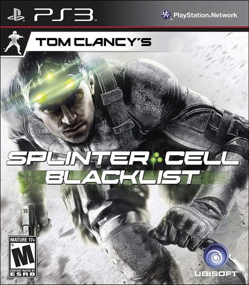 Splinter Cell Blacklist 100% Portugues Ps3 Novo Lacrado