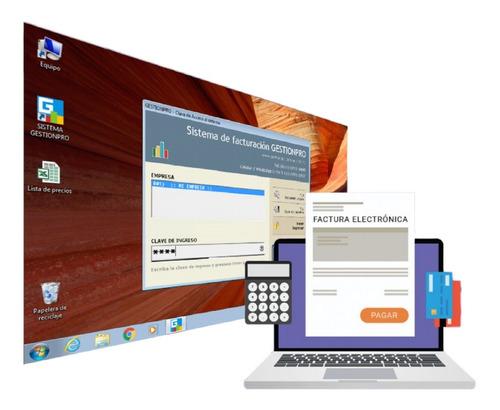 Sistema De Facturación Gestionpro Con Factura Electronica