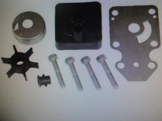 Kit Reparo Bomba D´água Motor Popa Yamaha 15hp Fmhs/gmhs