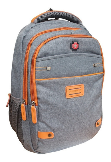 Mochila Swissbrand Casual Con Porta Laptop Sbx 00169