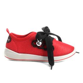 Tênis Ladybug Be Miraculou 21754 Branco-vermelho