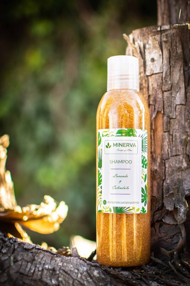 Shampoo Orgánico Natural Calendula Y Lavanda
