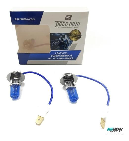 Kit Lampada Super Branca H3 8500k Premium