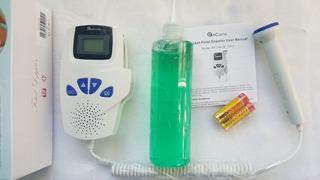 Para Mama Doppler Fetal Pantalla Lcd / 02 Pilas / Gel 250 Cc