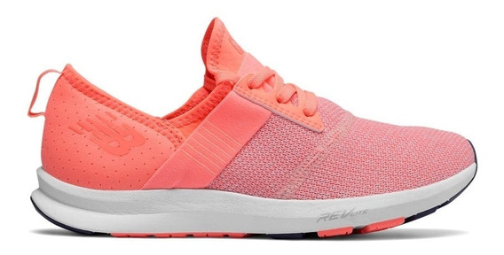 Zapatillas New Balance Fuelcore Salmon Mujer Running!! @