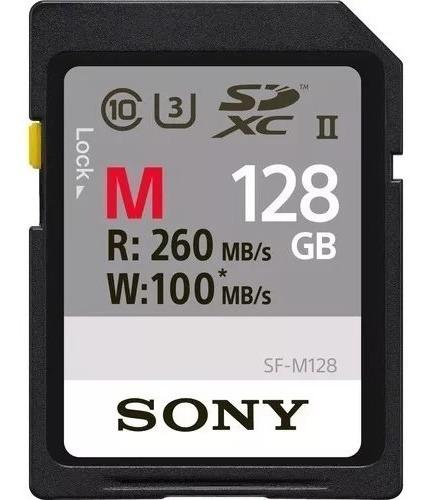 Cartão Sd Sony 128gb 260mb/s Profissional Ideal Ultra Hd 4k