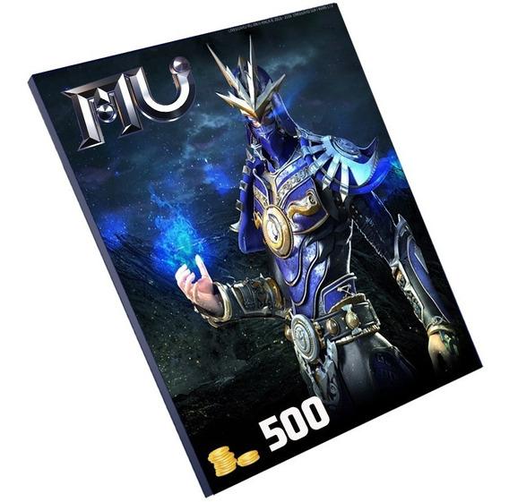 Cartão Mu Online 500 W Coin - Eprepag - Pronta Entrega