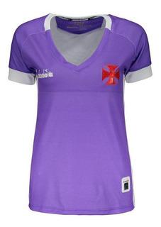Camisa Diadora Vasco Ii 2019 Goleiro Feminina