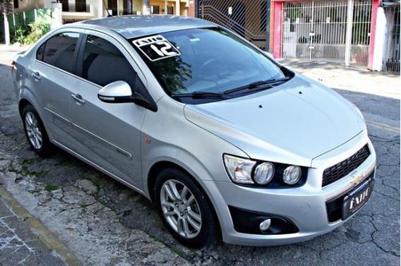 Chevrolet Sonic Sed Ltz 1.6 Flex Automático Prata 2012