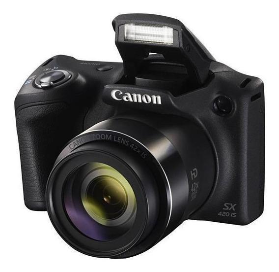 Câmera Digital Compacta Canon Powershot Sx420 Is 20mp