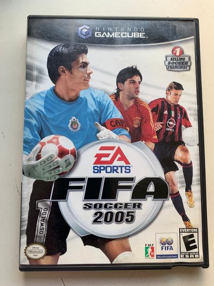 Jogo Para Videogame Fifa Soccer 2005 Gamecube Seminovo
