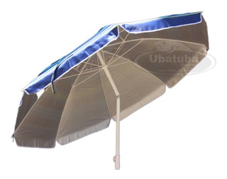 Sombrilla De Playa 2mts Reforzada + 100% Proteccion Uv