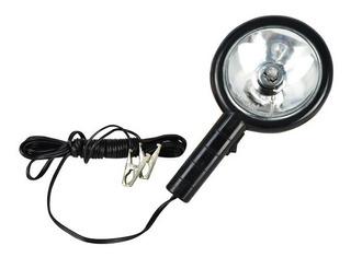 Lanterna Refletor Cilibrim C/ Garra Longo Alcance 12v Jacaré