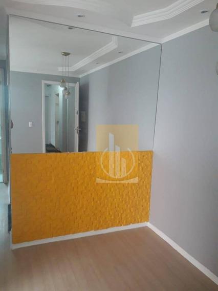 Apartamento Com 2 Dormitórios Para Alugar, 50 M² Por R$ 950/mês - Jardim São Miguel - Ferraz De Vasconcelos/sp - Ap0188
