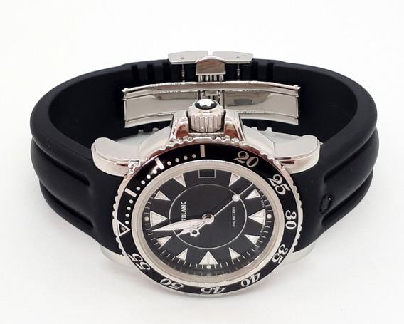 Relógio Mont Blanc 35mm - Completo - Quartz