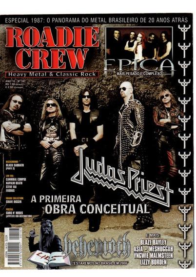 Roadie Crew Judas Prist A Primeira Obra Conceitual Nº 107