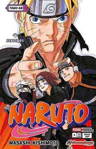 Imagen 1 de 1 de Panini Manga Naruto N.68