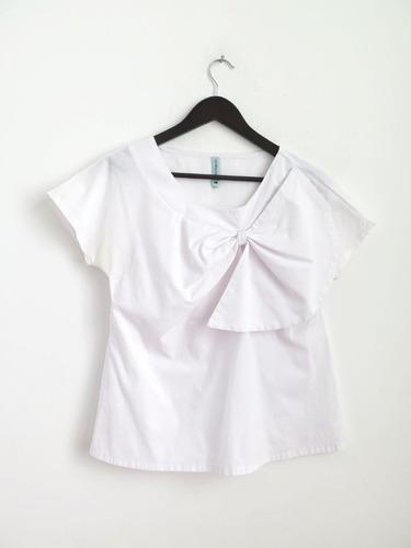 Camisa Blusa Carolina Muller Moño Talle L