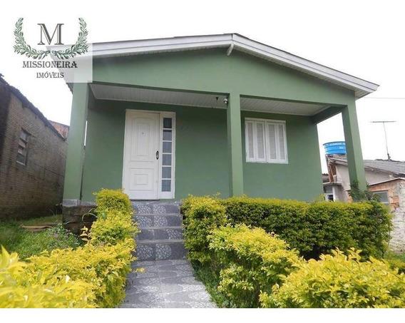 Casa Com 3 Dormitórios À Venda, 75 M² Por R$ 130.000,00 - São Tomé - Viamão/rs - Ca0056