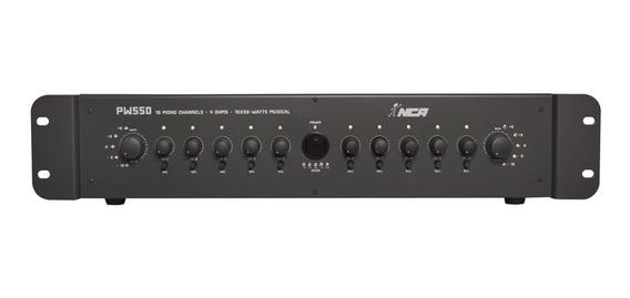 Mixer De Som Amplificado 4 Ohms 300w Rms Bivolt Ll Áudio