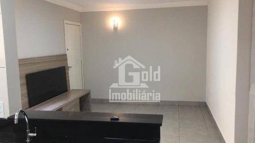 Apartamento Com 2 Dormitórios Para Alugar, 52 M² Por R$ 900,00/mês - Presidente Médici - Ribeirão Preto/sp - Ap3222