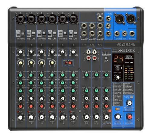 Consola Yamaha Mg12xuk Usb 12 Canales Usb Nueva Garantia